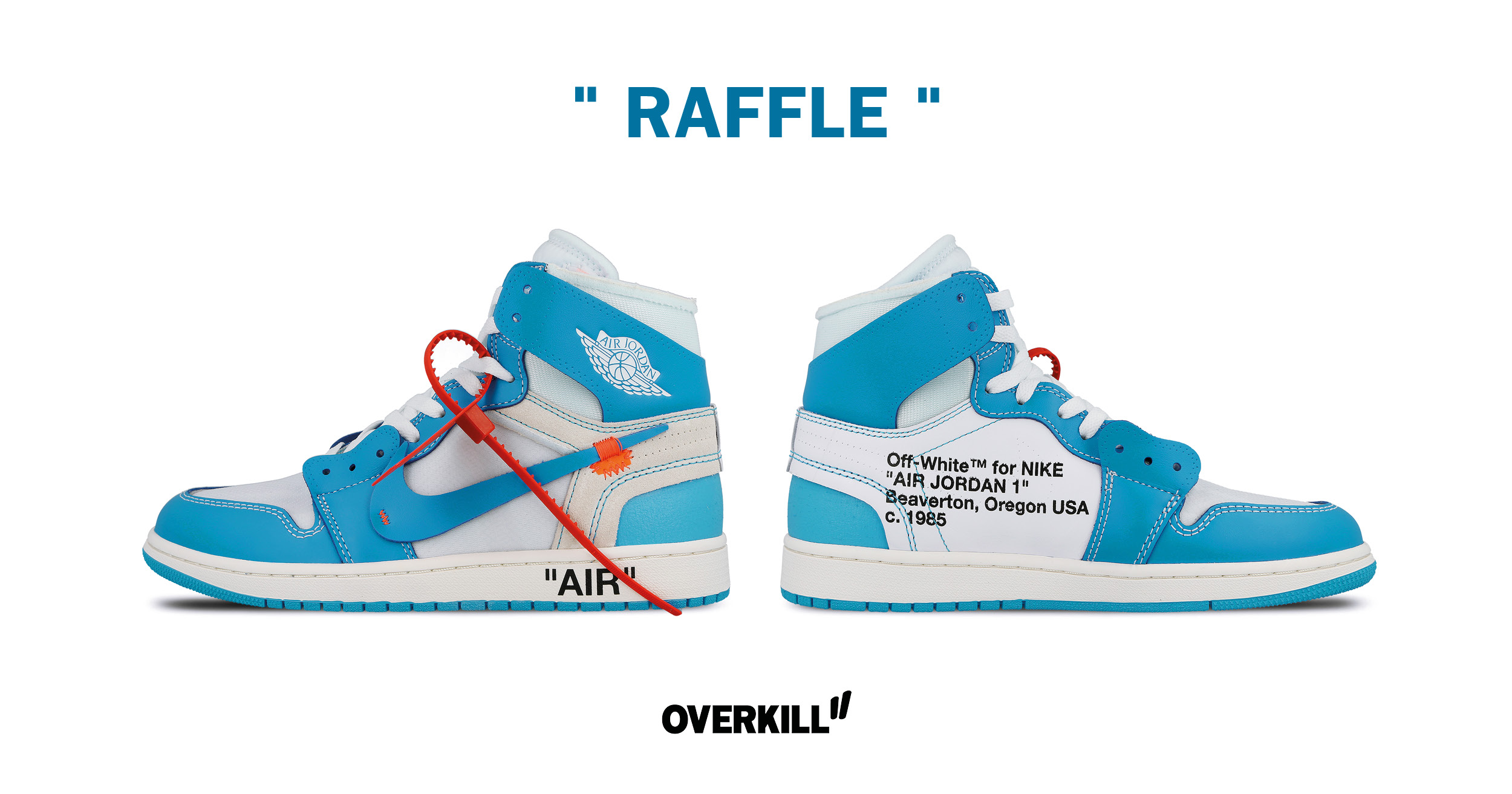 competitive price 4ddc0 54936 DONE: Nike x OFF-White Air Jordan 1 POWDER BLUE