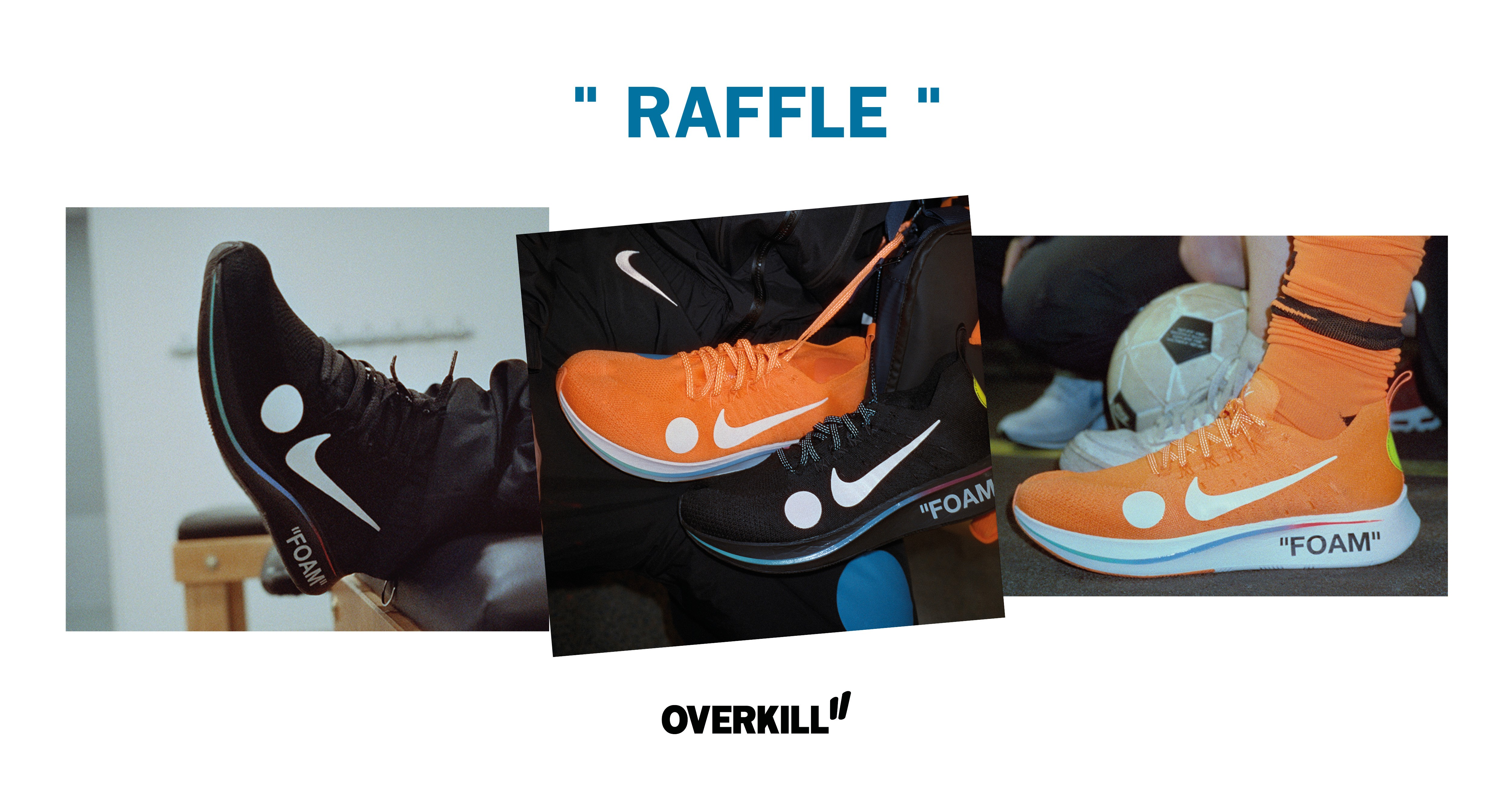 """4ce0abd883260 DONE  Nike x OFF-White Zoom Fly Mercurial Flyknit """"FOOTBALL"""