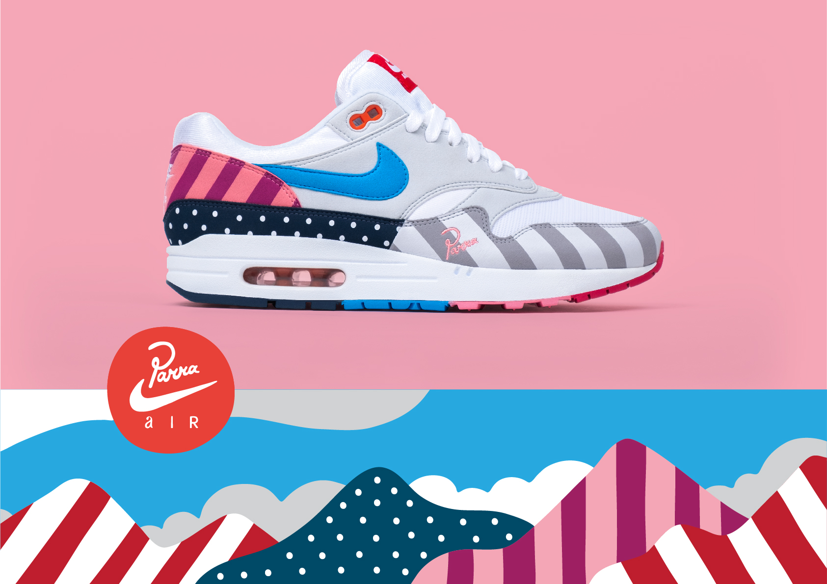 hot sales cc1d2 da7dd DONE: Parra x Nike Air Max 1 Quiz by OVERKILL - OVERKILL Blog