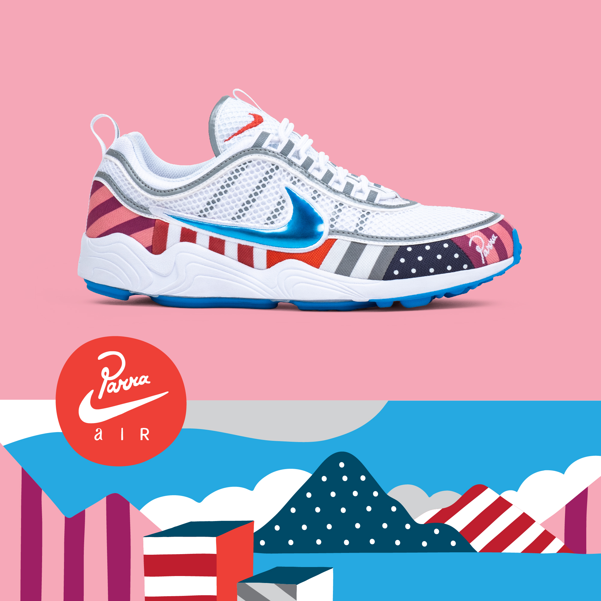 new styles 1a66c 42374 DONE  Parra x Nike Spiridon Quiz by OVERKILL - OVERKILL Blog