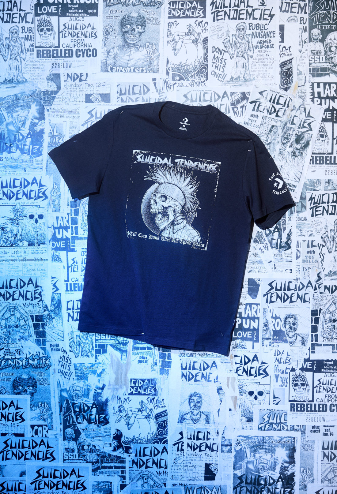 Converse x Suicidal Tendencies Capsule Collection OVERKILL