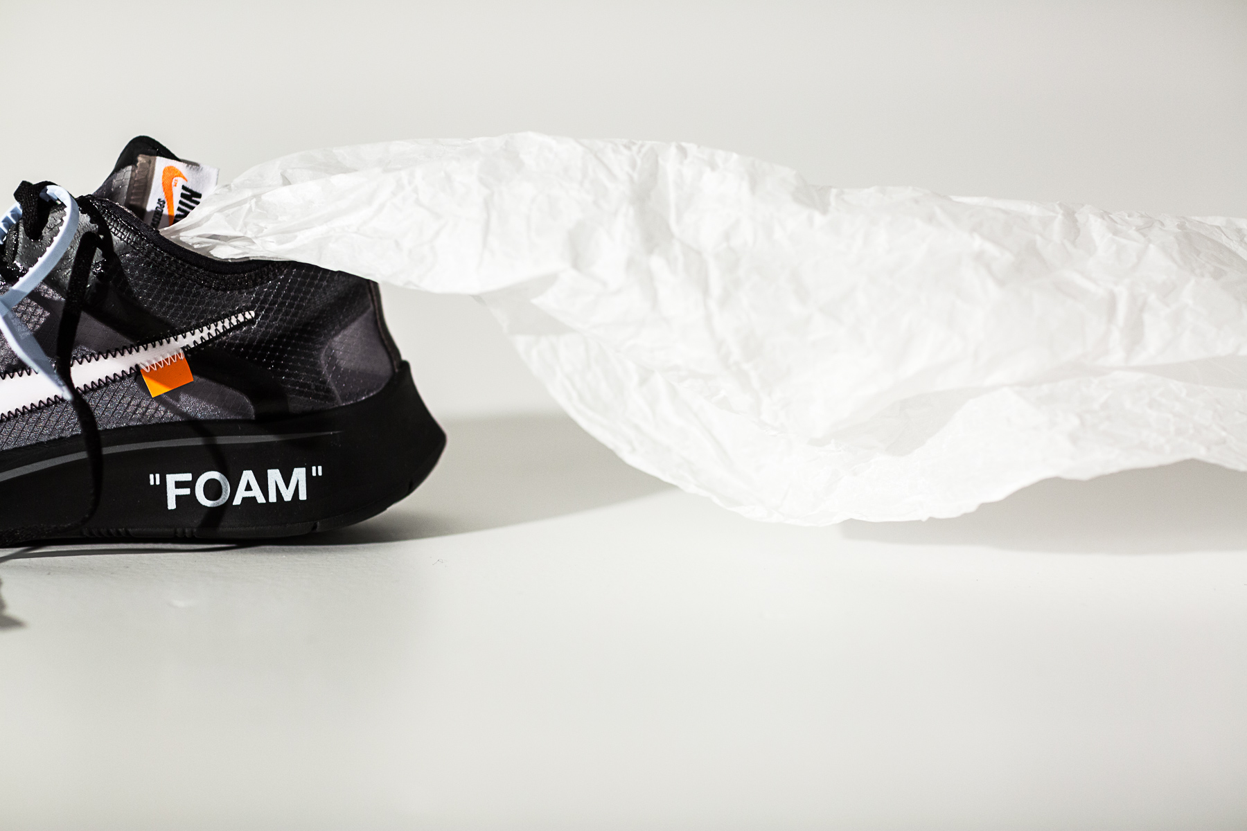 "42b7e40a9ef6 DONE  Off-White x Nike Zoom Fly SP ""Black"" - RAFFLE - OVERKILL Blog"