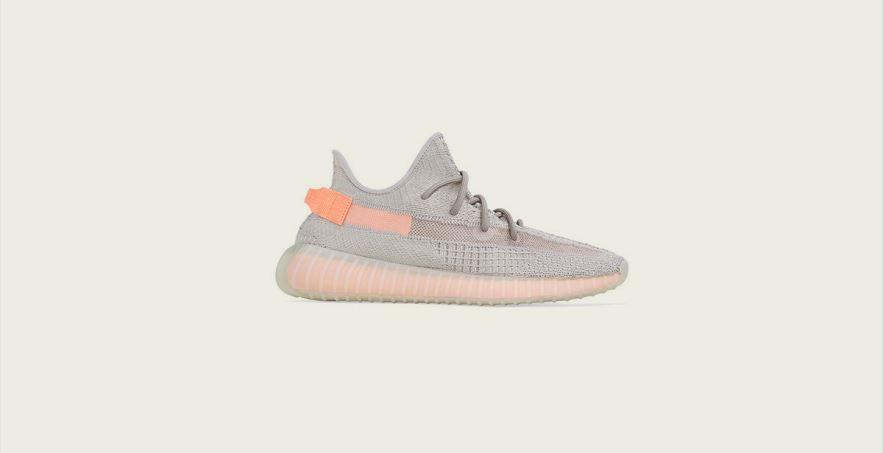 orange grau yeezys